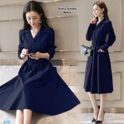 Dress garela navy
