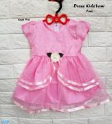 Dress kids vani pink