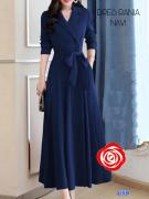Dress Rania navy