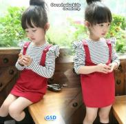 Ov red salur kids-ov red strip