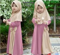 Gamis Nana Kids dusty
