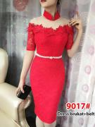 Dress import 9017 red