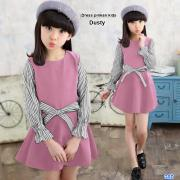 Dresss pinkan kids dusty
