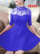 Dress import 5826 blue
