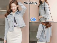 jaket jeans afnia light blue