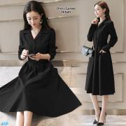 Dress garela hitam