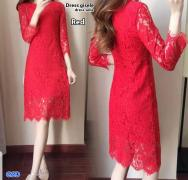 Dress gisele red-dress selie