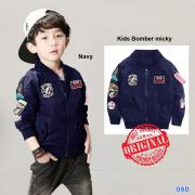 Kids Bomber mickey Navy