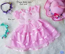 Dress kids lulu soft pink