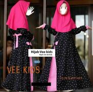 Hijab Vee kids black-hijab vivi dot kids