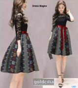 Dress magna goldcilia