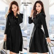 Dress gisela hitam