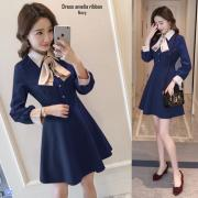 Dress amelia ribbon navy