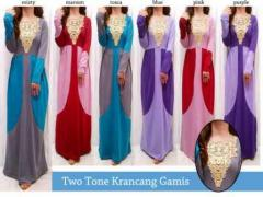 two tone gamis
