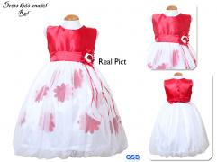 Dress kids anabel red