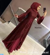 New julietta maxi maaroon