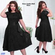 Dress Jumbo Meli hitam
