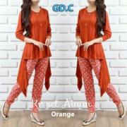set ainun orange