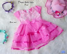 Dress kids lulu pink