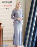 Maxi mermaid grey-maxi pearl