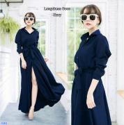 Longdress coco navy