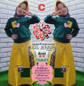 Set Jennie kids armi-set ennie