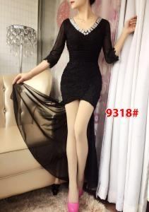Dress import 9318 black