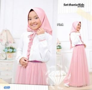 Set thania pink-set hania