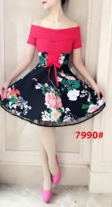 Dress import 7990 red