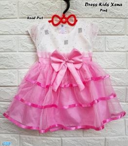 Dress kids xena pink