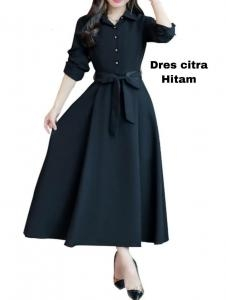 Dress citra hitam