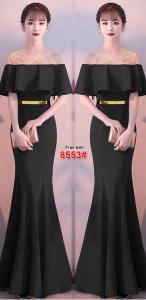 Longdress import 8553 hitam