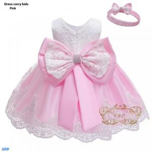 Dress corry kids pink