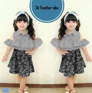 Set feather abu