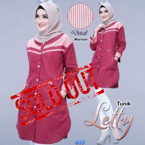 TUnik Letty maroon