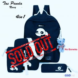 Tas Panda 4in1 navy